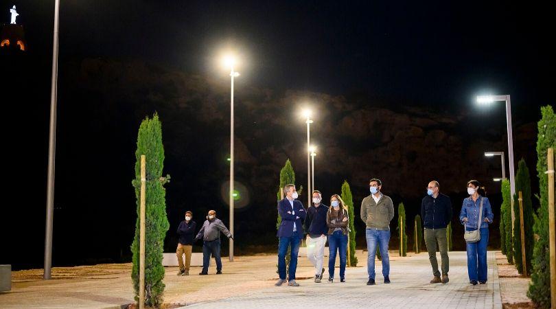 Iluminación Alcazaba