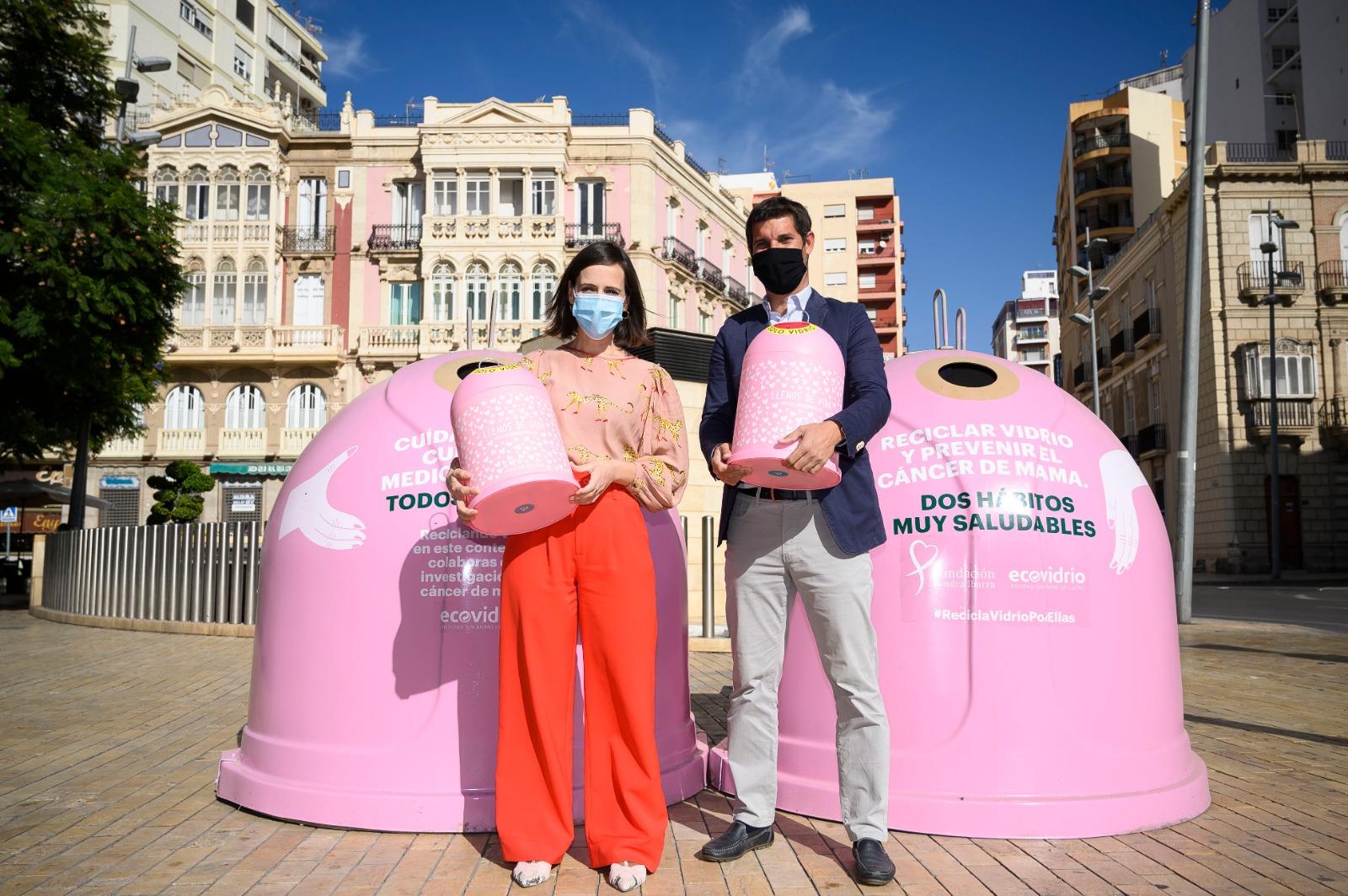 Ecovidrio Día Mundial contra el Cáncer de Mama