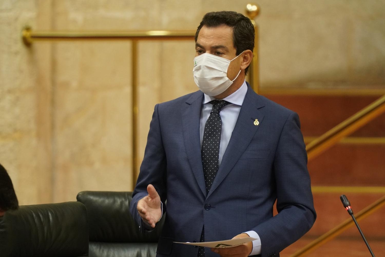Juanma Moreno andalucía