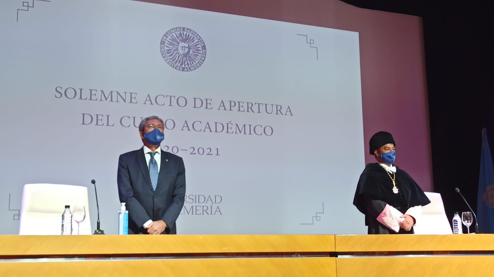 acto apertura curso universitario Ual 2020 consejero