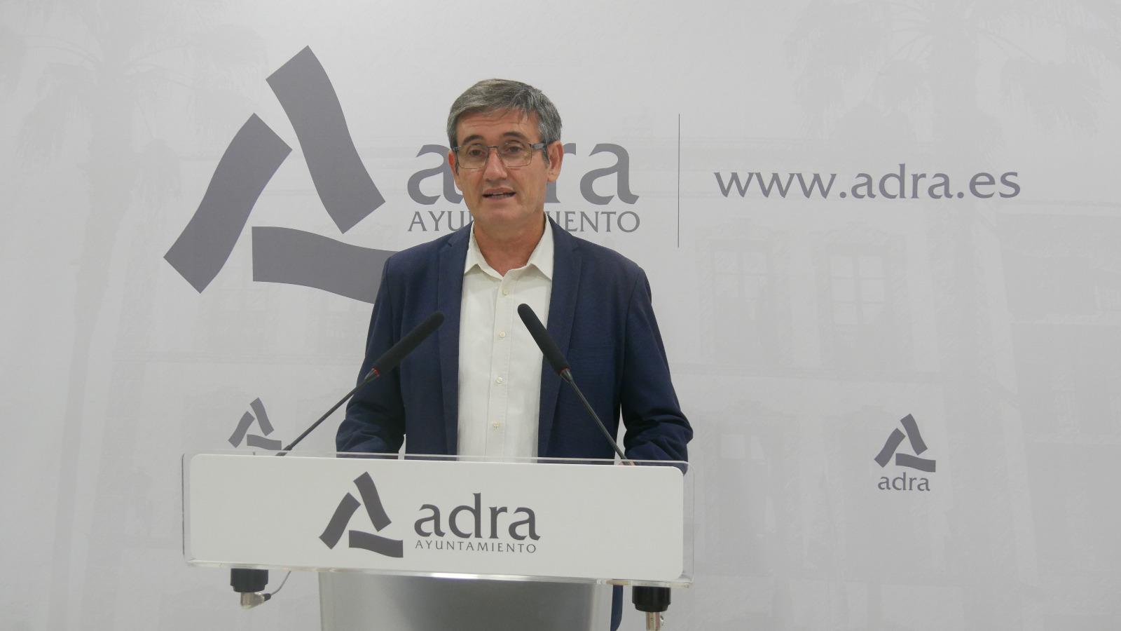 201125 Manuel Cortés celebra la adjudicación de la segunda fase de limpieza del Río Adra