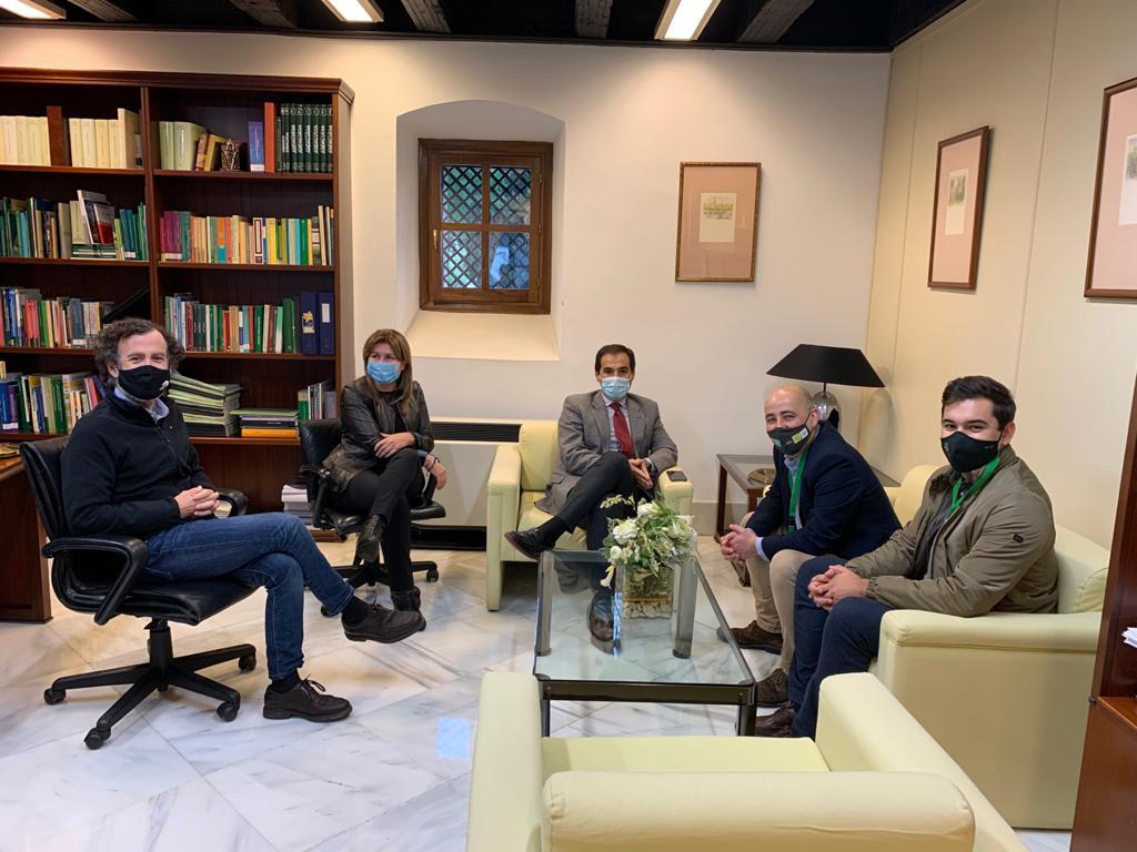 """José Antonio Nieto: """"Huércal-Overa ahora sí está en la agenda del Gobierno Andaluz"""""""