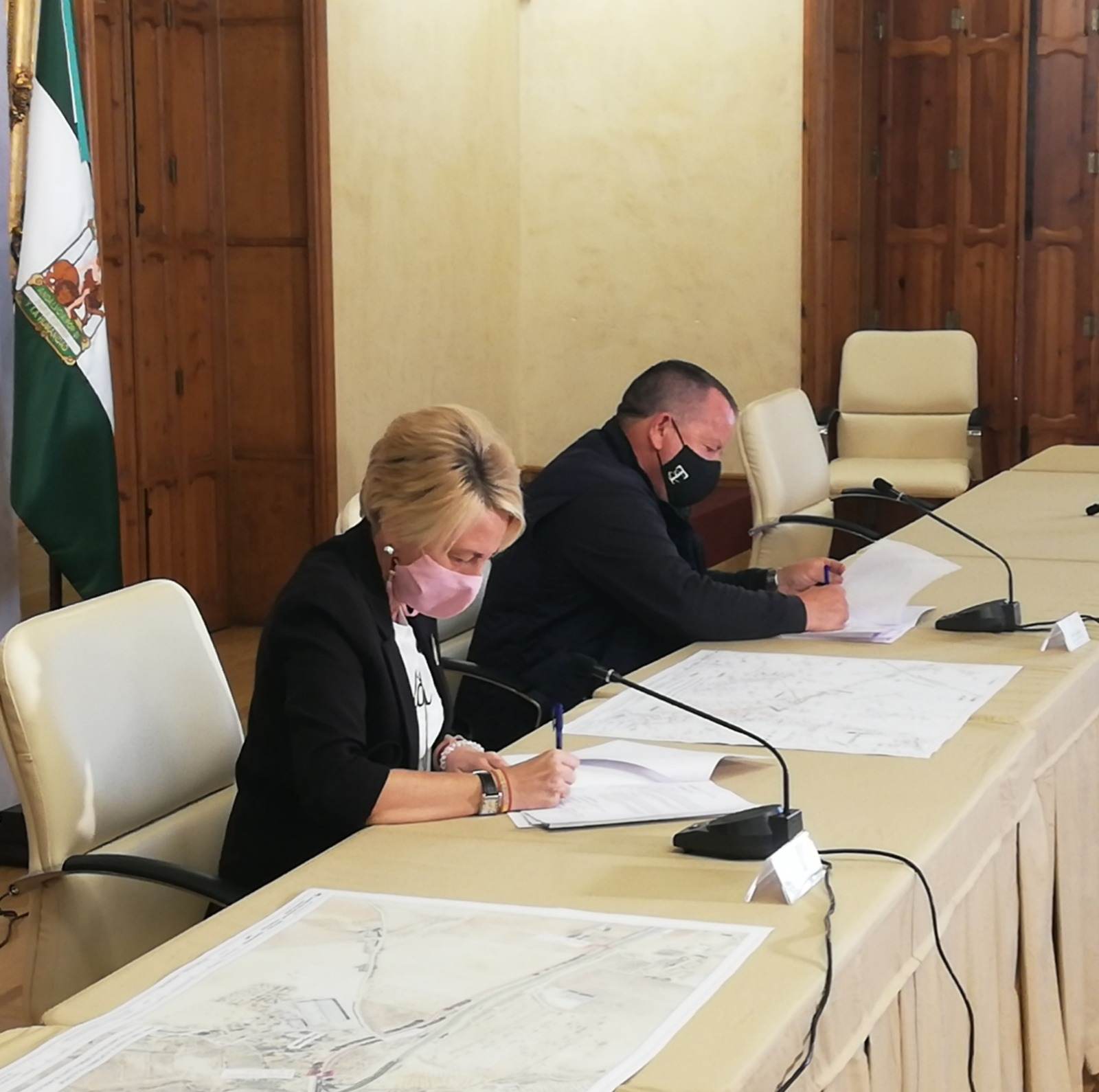 La Junta cede al Ayuntamiento de Alcóntar un tramo de la antigua carretera C-323