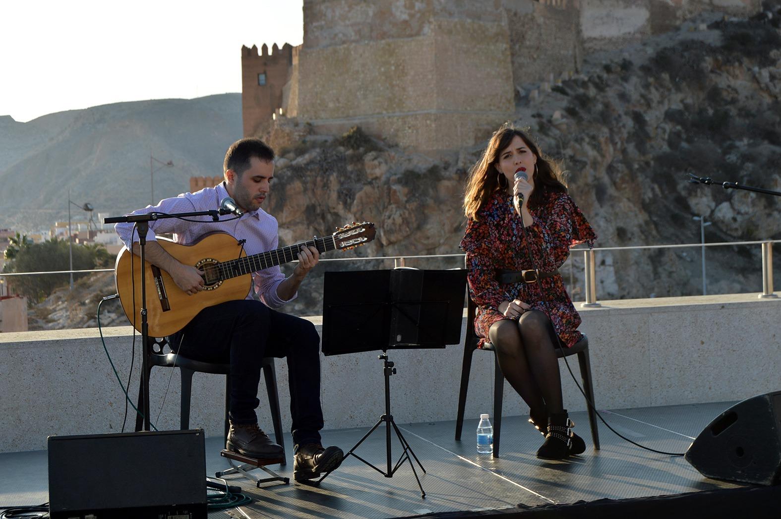 Carmen Muyor y Quique Peña en Almería