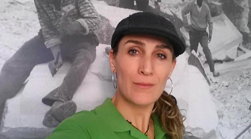 Carmen Liria, vecina de Macael, recibe el Galardón Regional de los 'Premios Coraje' de la UPTA