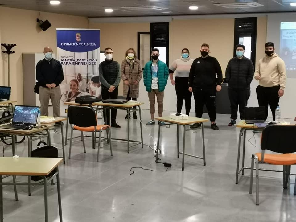Gádor finaliza otro curso de formación dirigido a los jóvenes gracias a Diputación