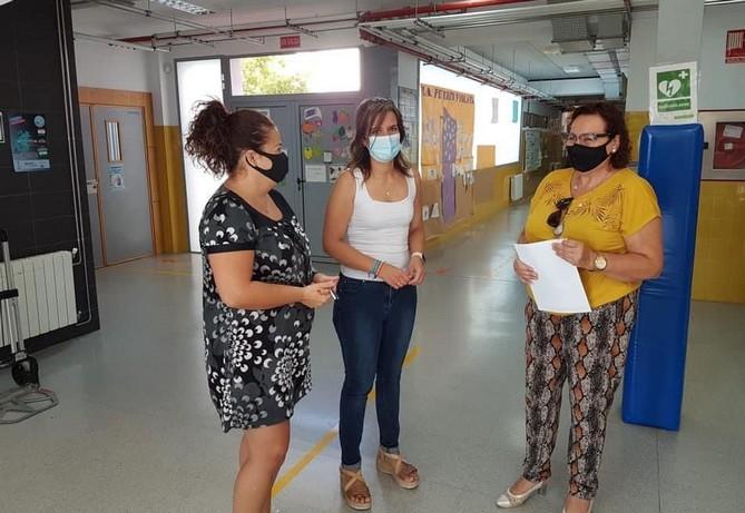 El Ayuntamiento de Benahadux solicita a la Junta de Andalucía el cierre temporal de los centros educativos del municipio
