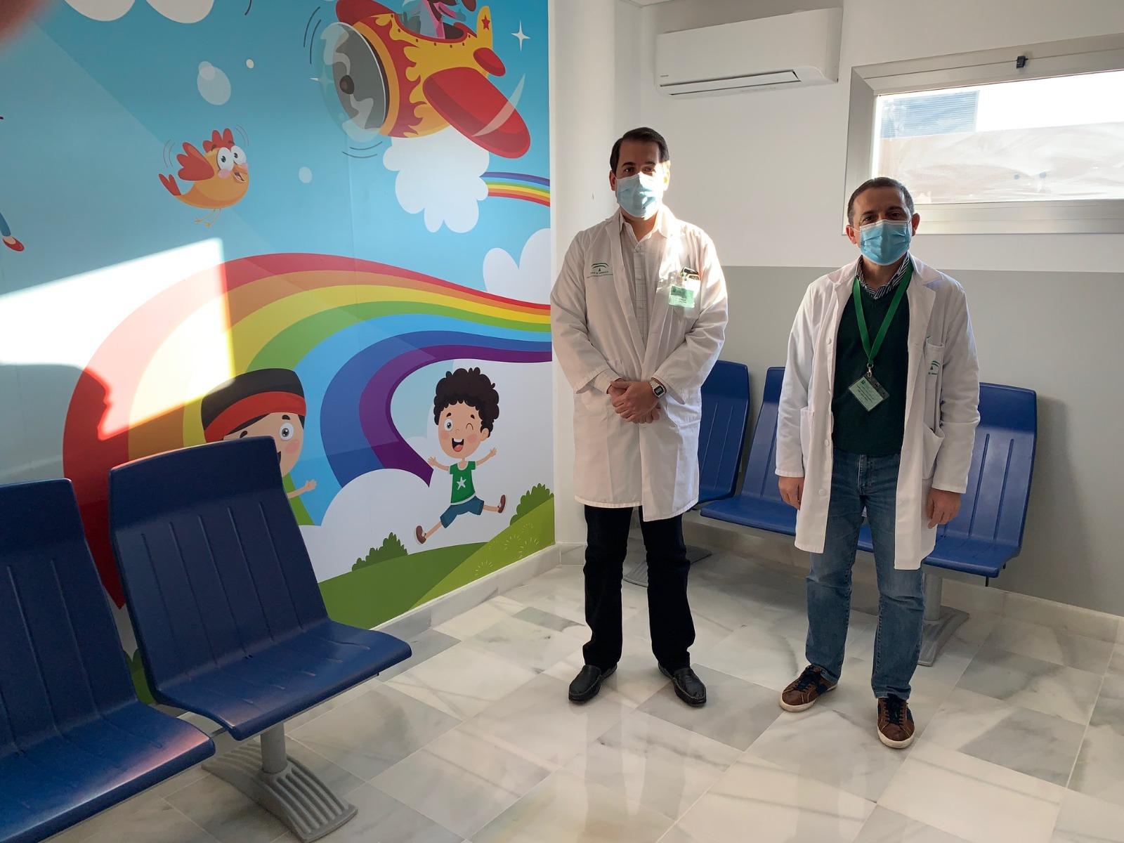 El Hospital de La Inmaculada reforma las consultas de Pediatría
