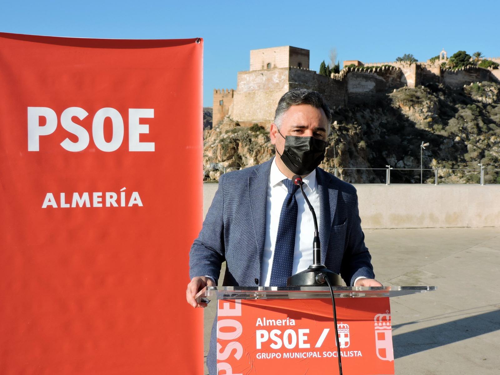 El PSOE reclama el apoyo de todos los partidos para pedir a la UNESCO que declare La Alcazaba Patrimonio de la Humanidad