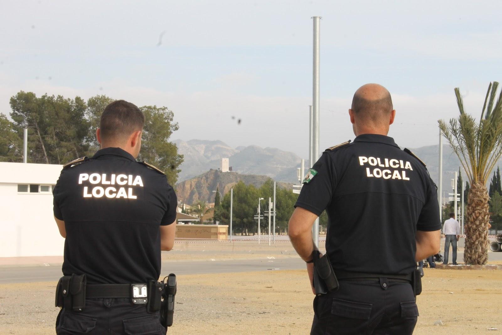 La Policía Local de Huércal-Overa detiene a un joven por un presunto delito de violencia de género