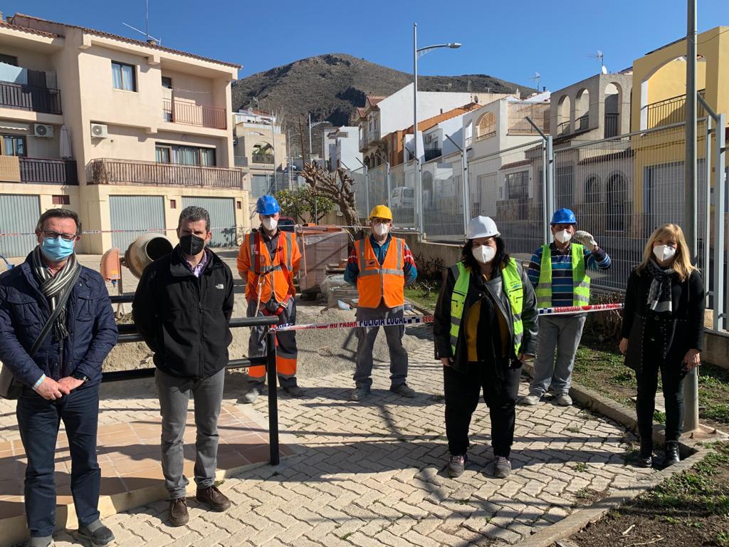 Proyectos PFEA en Berja