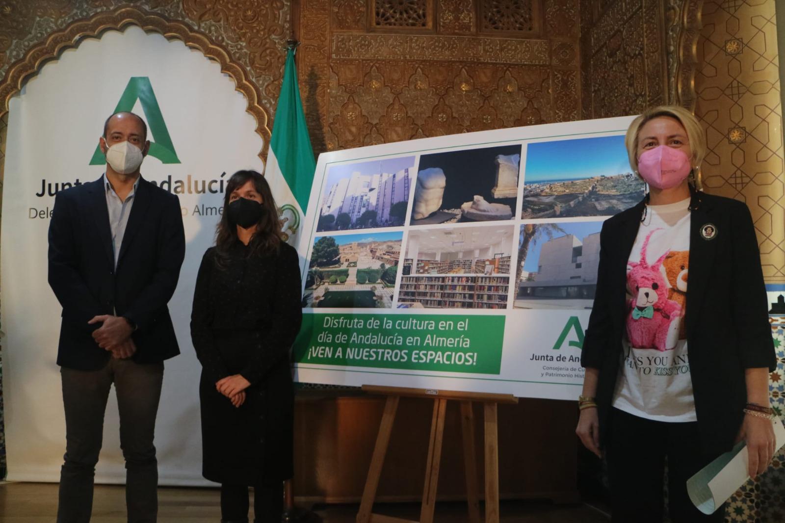 Alcazaba, Museo de Almería y Biblioteca Villaespesa celebran el 28F con actividades culturales para toda la familia