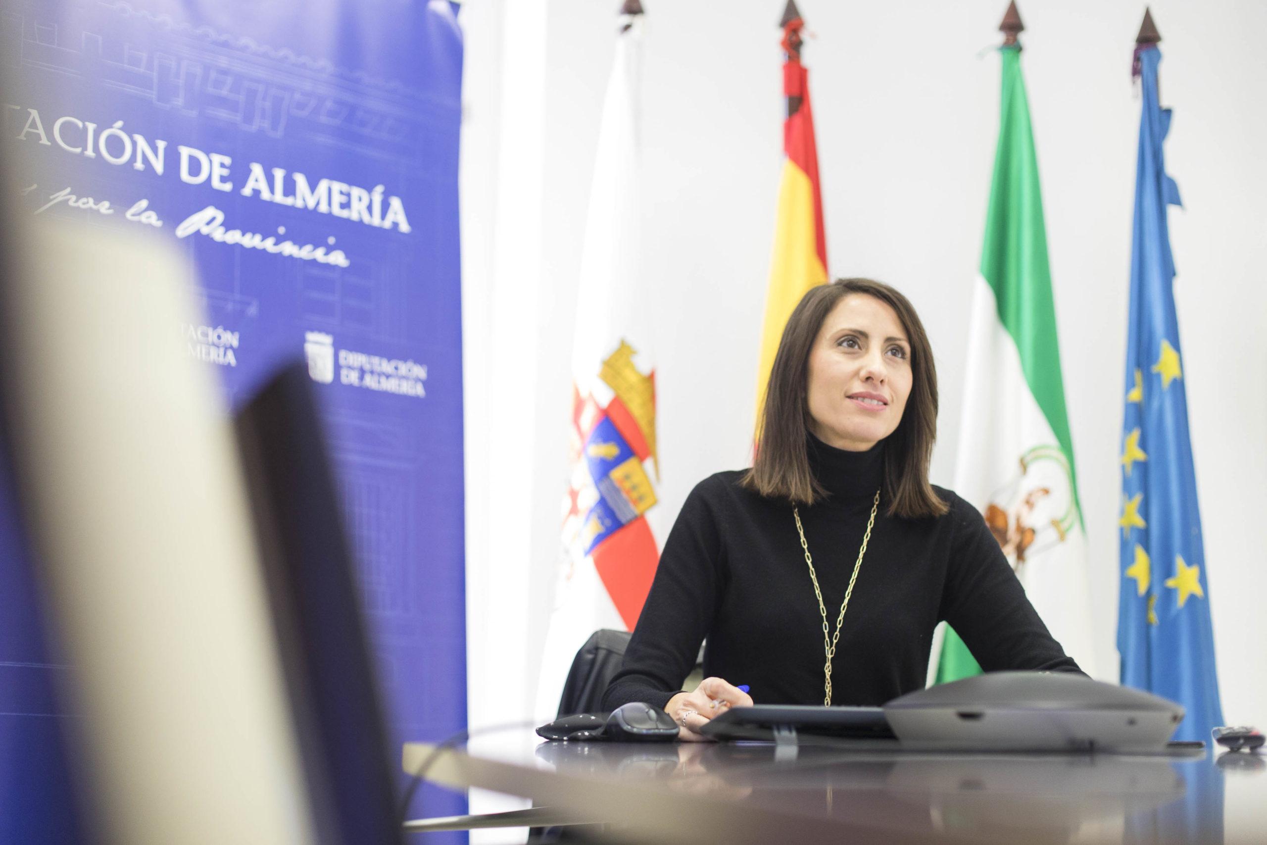 Diputación de Almería coordina con las diputaciones andaluzas la imagen para conmemorar el 8 de marzo