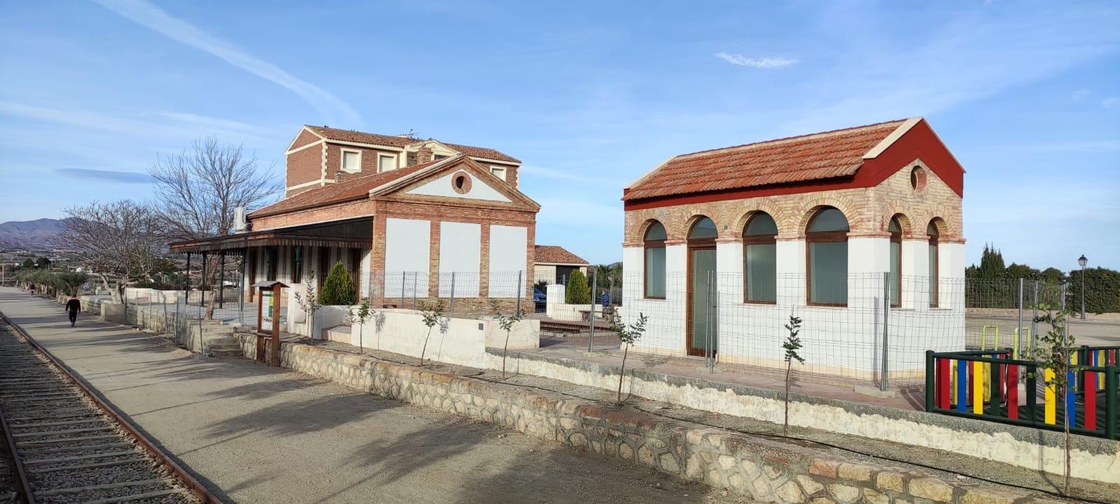 El Ayuntamiento de Huércal-Overa abre el plazo de presentación de ofertas para la concesión del restaurante-bar en la estación del ferrocarril