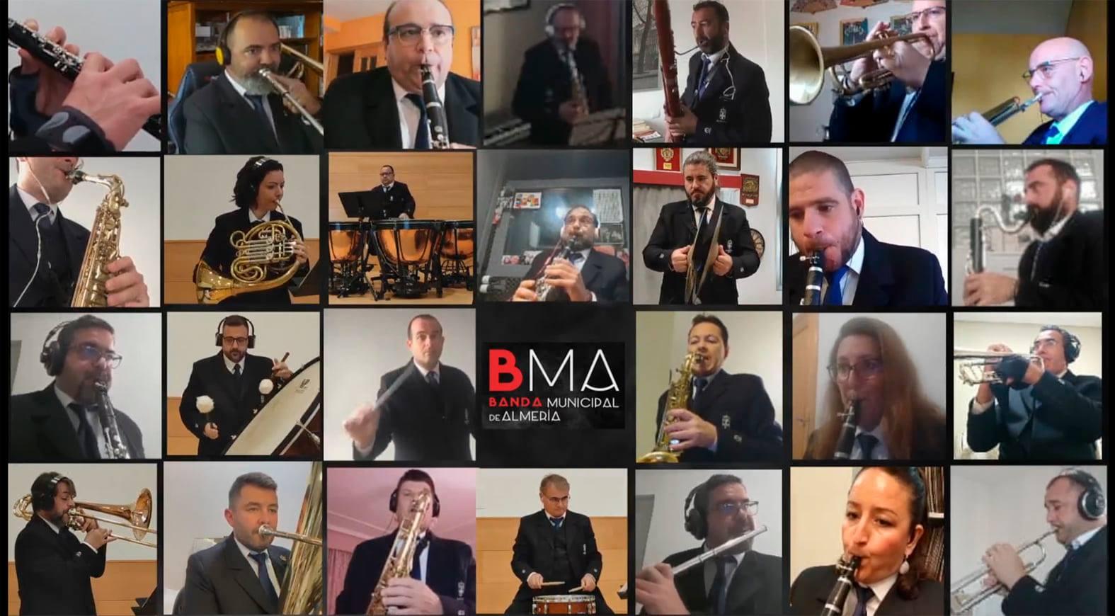 Nuevo concierto virtual de la Banda Municipal de Música de Almería