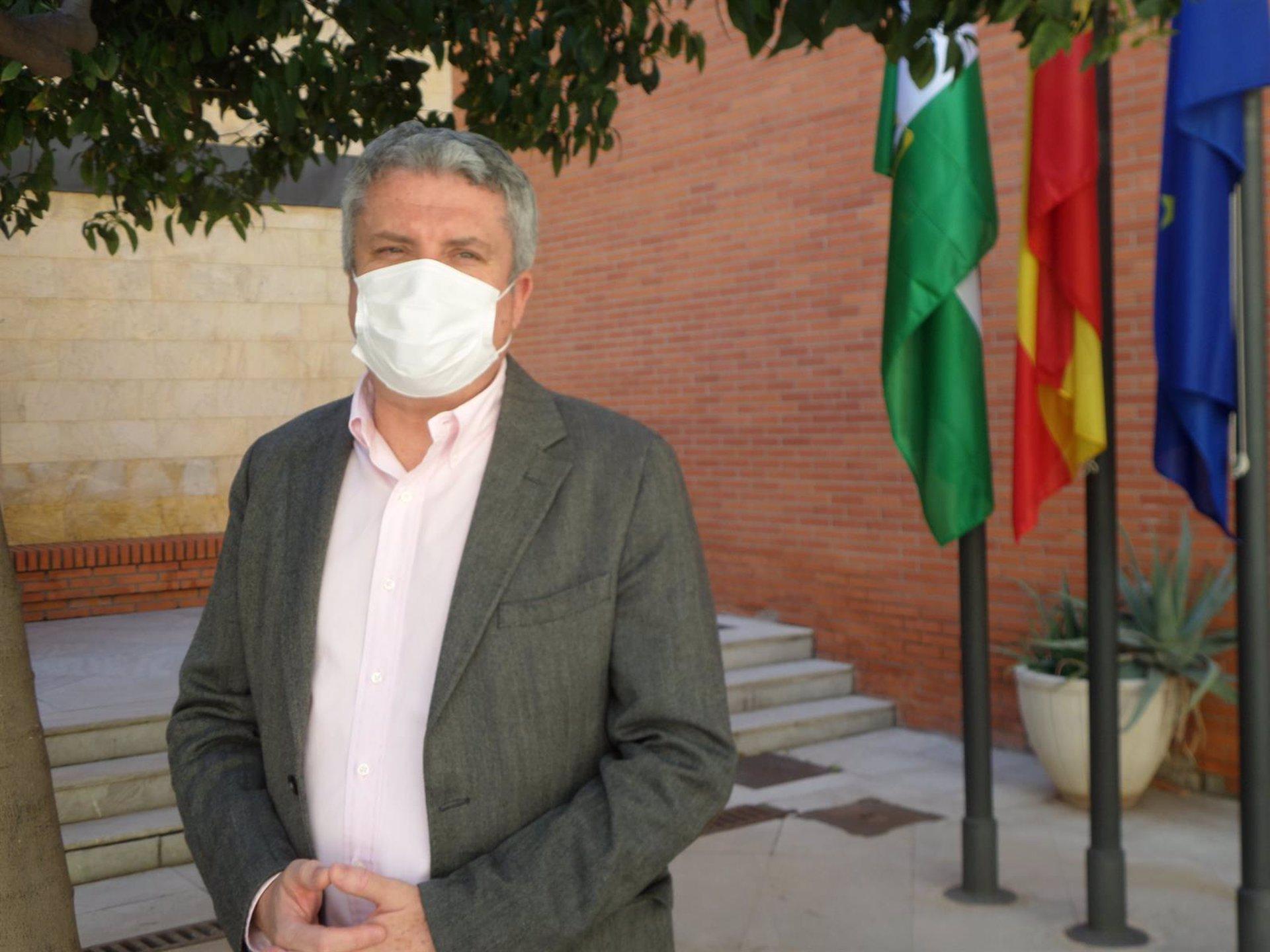 """Belmonte se muestra cauto ante una apertura perimetral de Almería: """"Yo no sería partidario de abrir la movilidad entre provincias"""""""