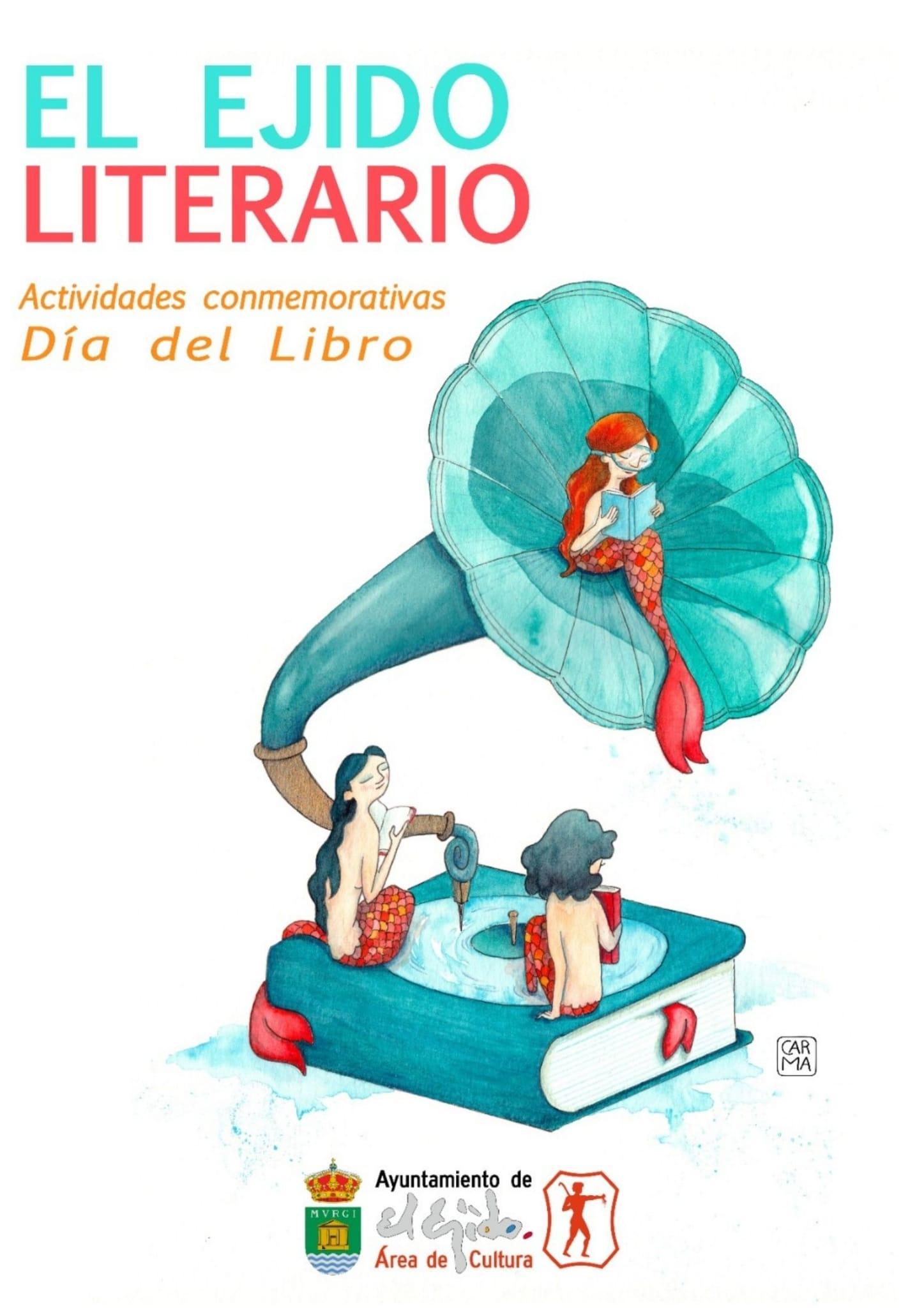 210409 Cartel El Ejido Literario Día del Libro