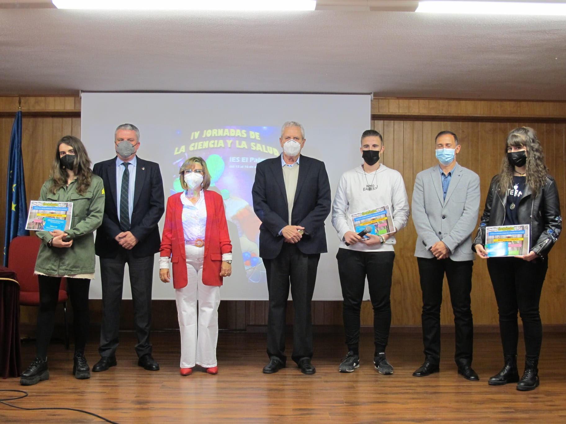 El IES El Palmeral de Vera presenta sus IV Jornadas de la Ciencia y la Salud bajo el lema 'Más salud, más Palmeral'