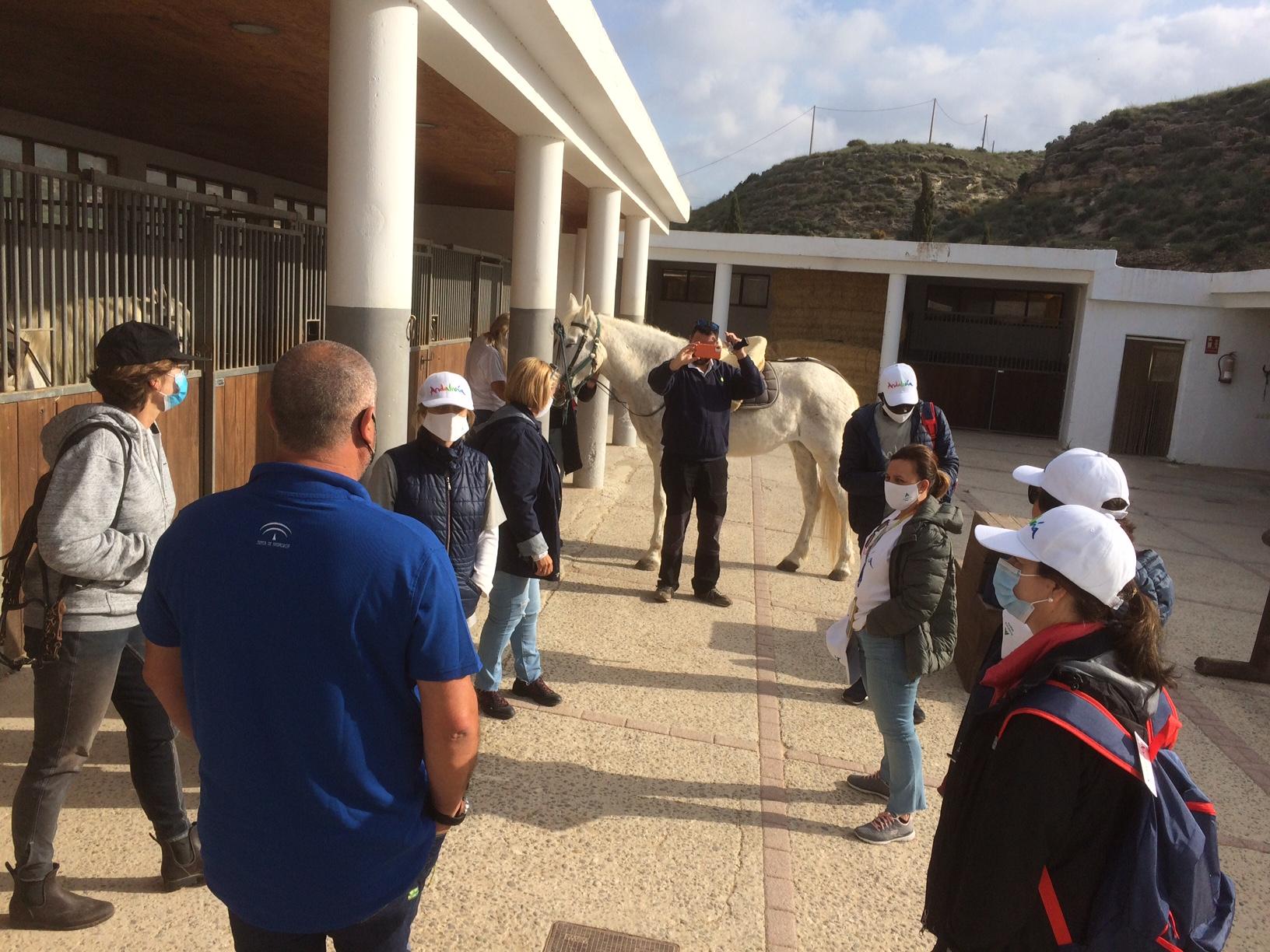 Diputación y Turismo Andaluz muestran las joyas del interior de 'Costa de Almería' a 9 agencias de viaje
