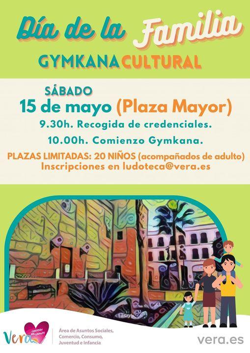 El Ayuntamiento de Vera prepara una Gymkana Cultural con motivo del Día Internacional de la Familia