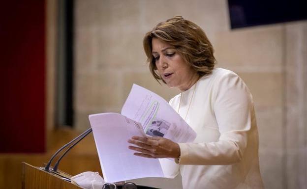 Susana Díaz convoca este jueves Ejecutiva del PSOE-A para debatir sobre el adelanto de las primarias a la Junta
