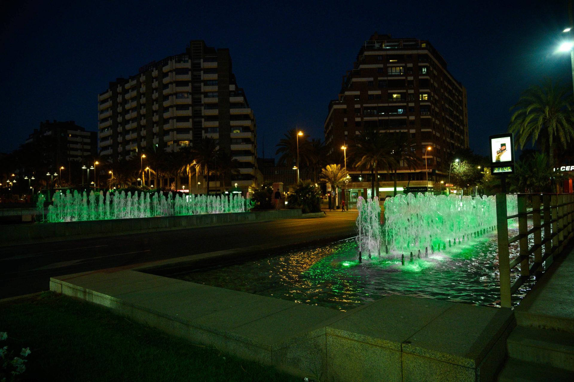 Almería se viste de verde mañana lunes para visibilizar el Día Mundial contra la ELA