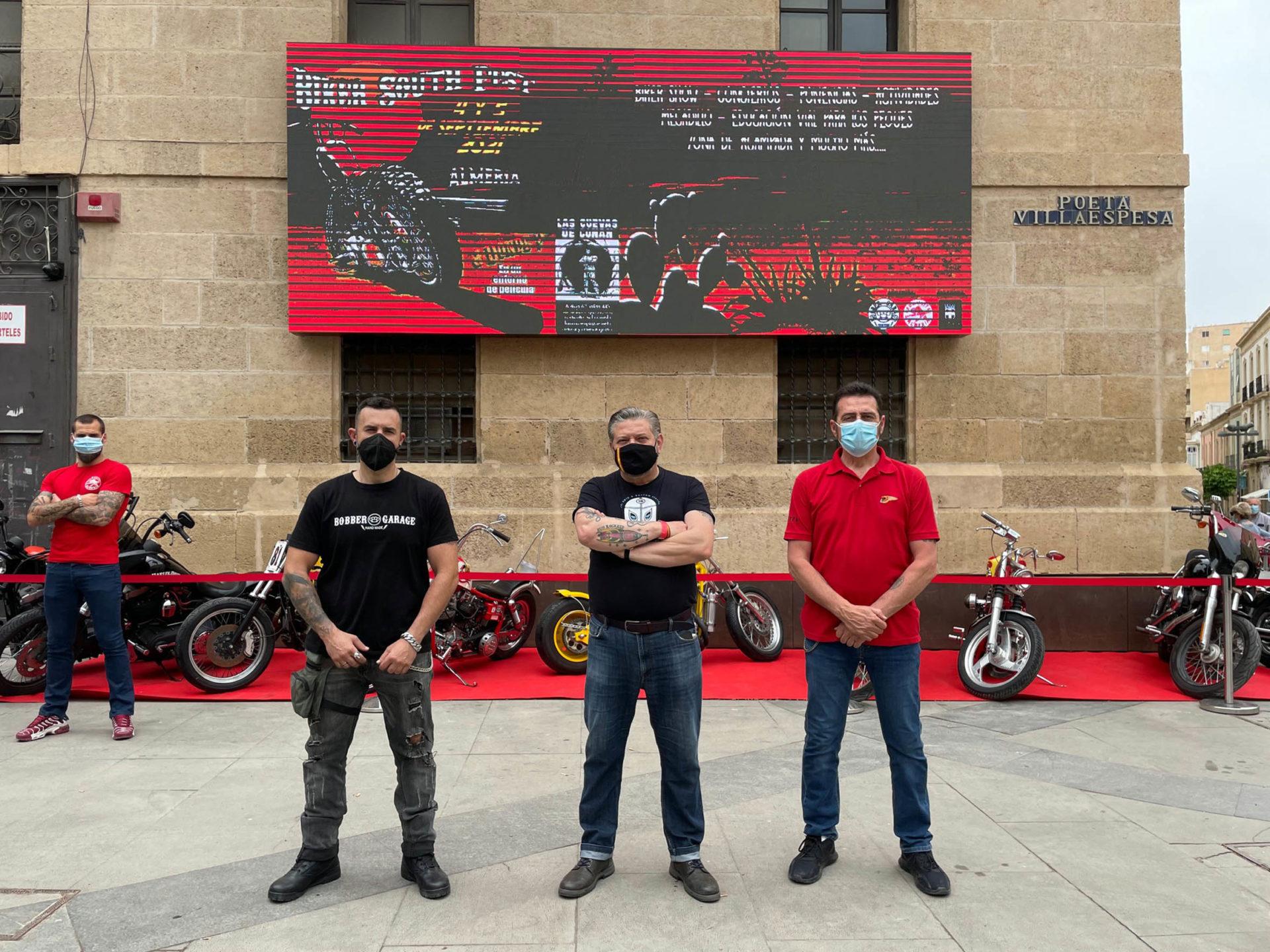 La cultura de las motos se vivirá en Almería con el 'Biker South Fest' el 4 y 5 de septiembre