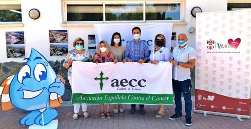 AquaVera muestra su lado más solidario con la celebración de una jornada benéfica a favor de la Asociación Española Contra el Cáncer