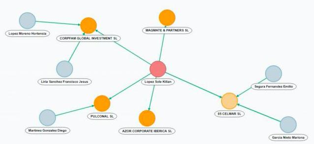 Así es la red empresarial que hay detrás del 'Caso Mascarillas'