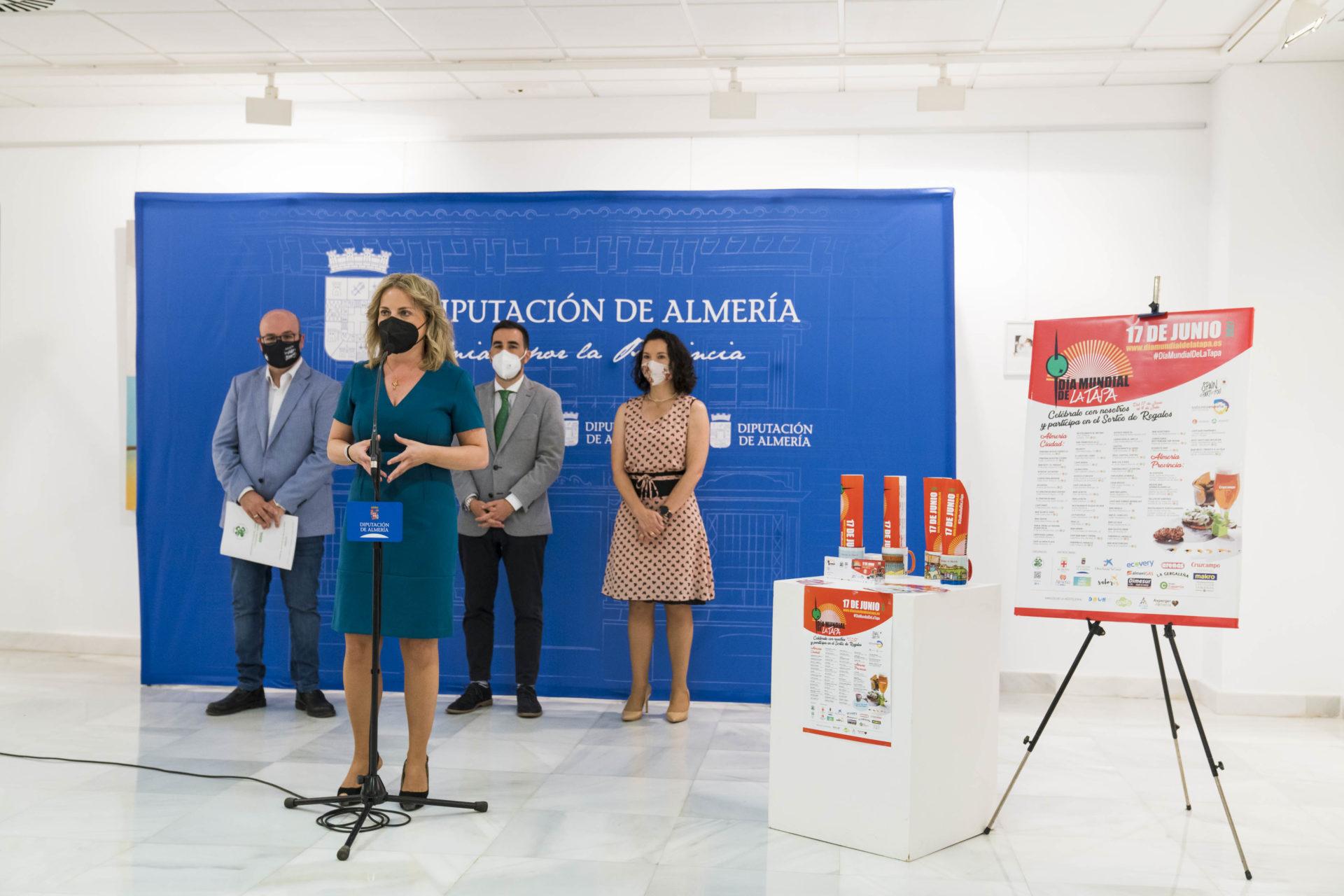 Los productos almerienses brillarán en el Día Mundial de la Tapa del 17 de junio al 4 de julio