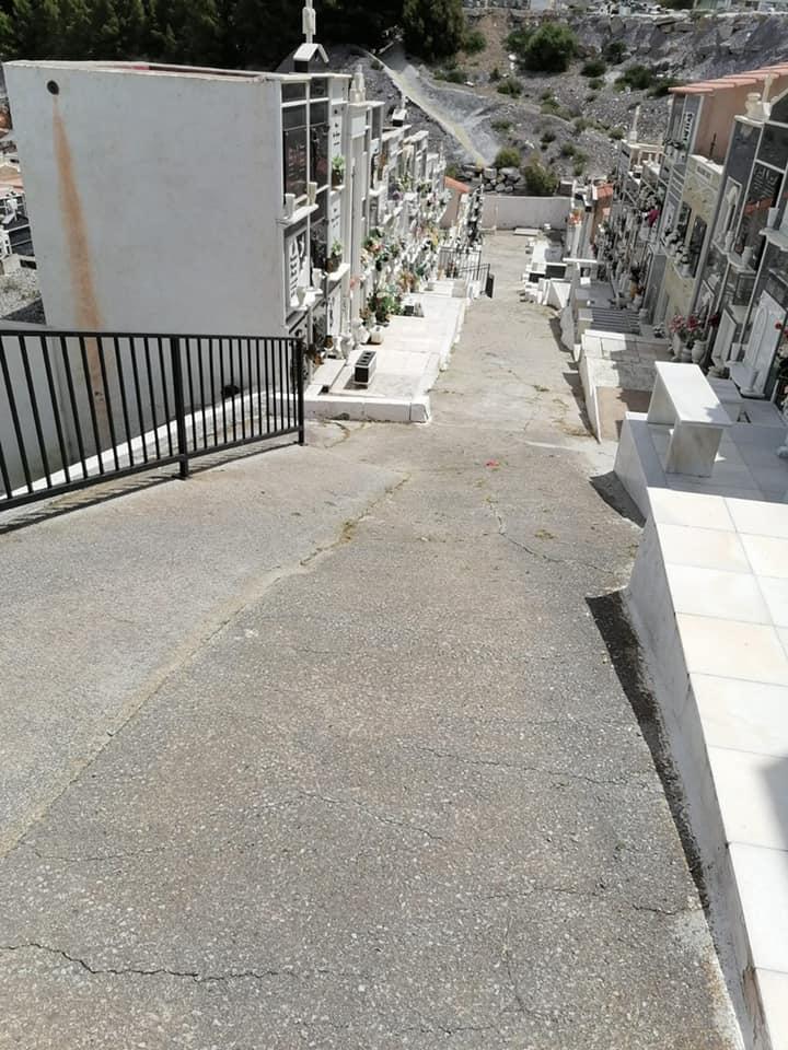 El Ayuntamiento de Macael continúa con las labores de mantenimiento del cementerio municipal