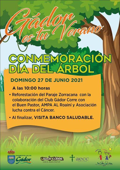 Gádor invita a reforestar el merendero municipal el próximo domingo 27 de junio