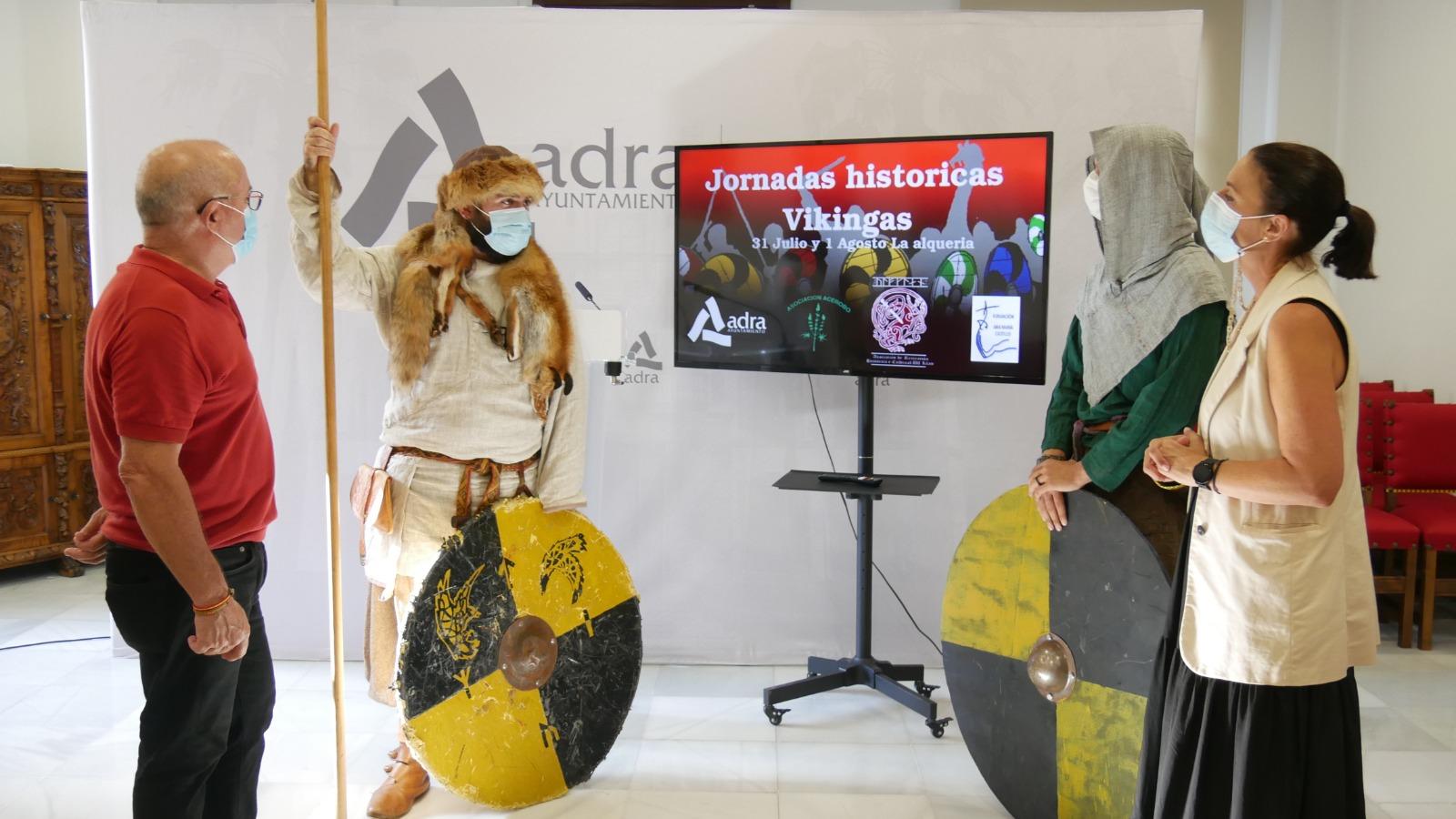 210728 Presentación Jornadas Históricas Vikingas en La Alquería