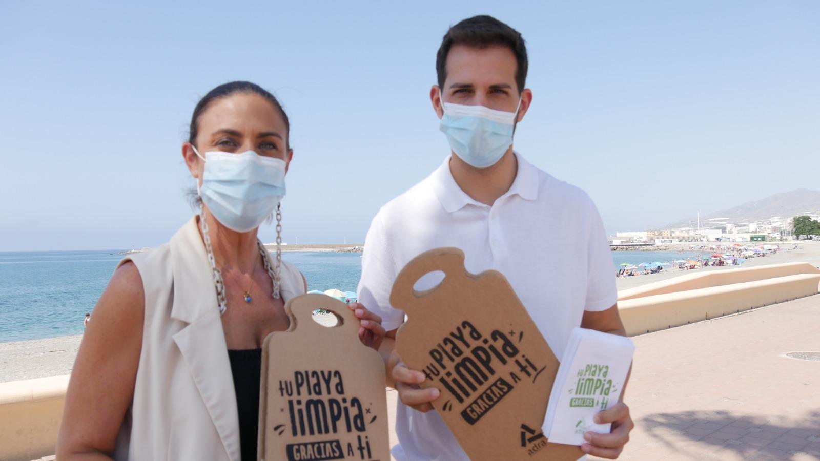 210729 Reparto material promo Playas Limpias