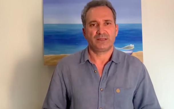 El autor de 'Maratón y otros cuentos griegos', Rafael Vargas, detalla su proyecto recién publicado