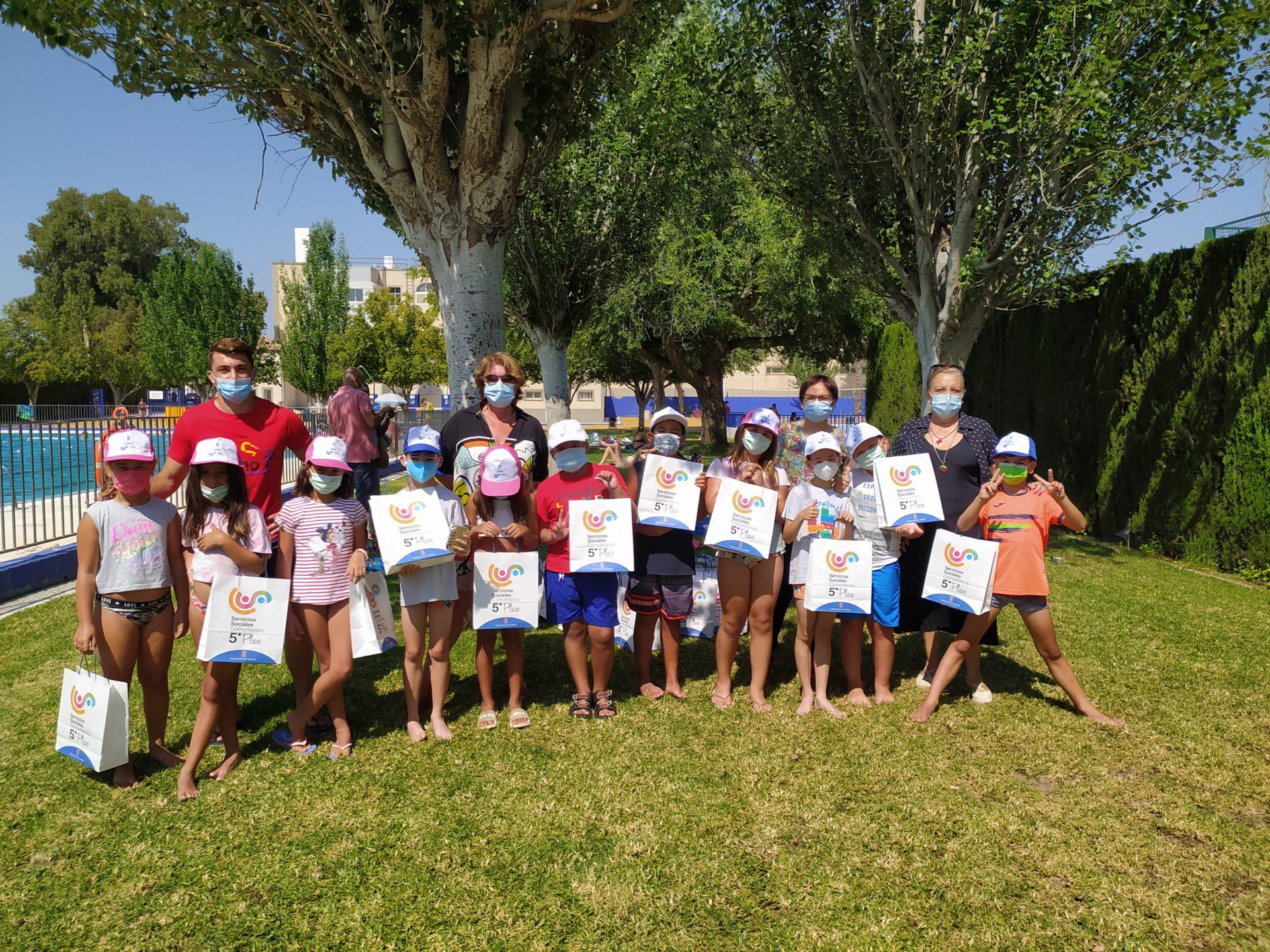 Los niños de Huércal-Overa disfrutan del ocio, actividades y formación en la Escuela de verano organizada por el Ayuntamiento y la Diputación de Almería