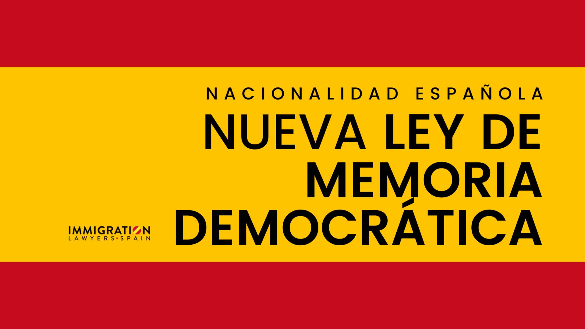VÍDEO BLOG #Miedodequé Ley de Memoria Democrática un producto