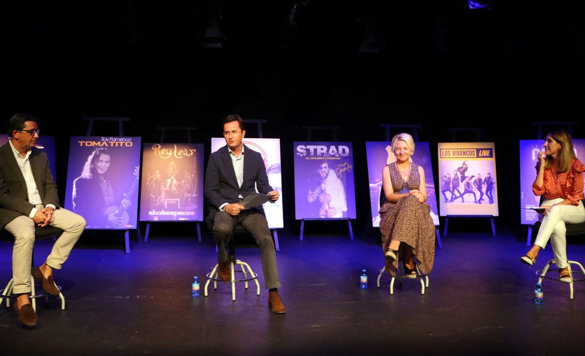 El 44º Festival de Teatro de El Ejido levanta el telón en otoño con compañías y artistas de primer nivel
