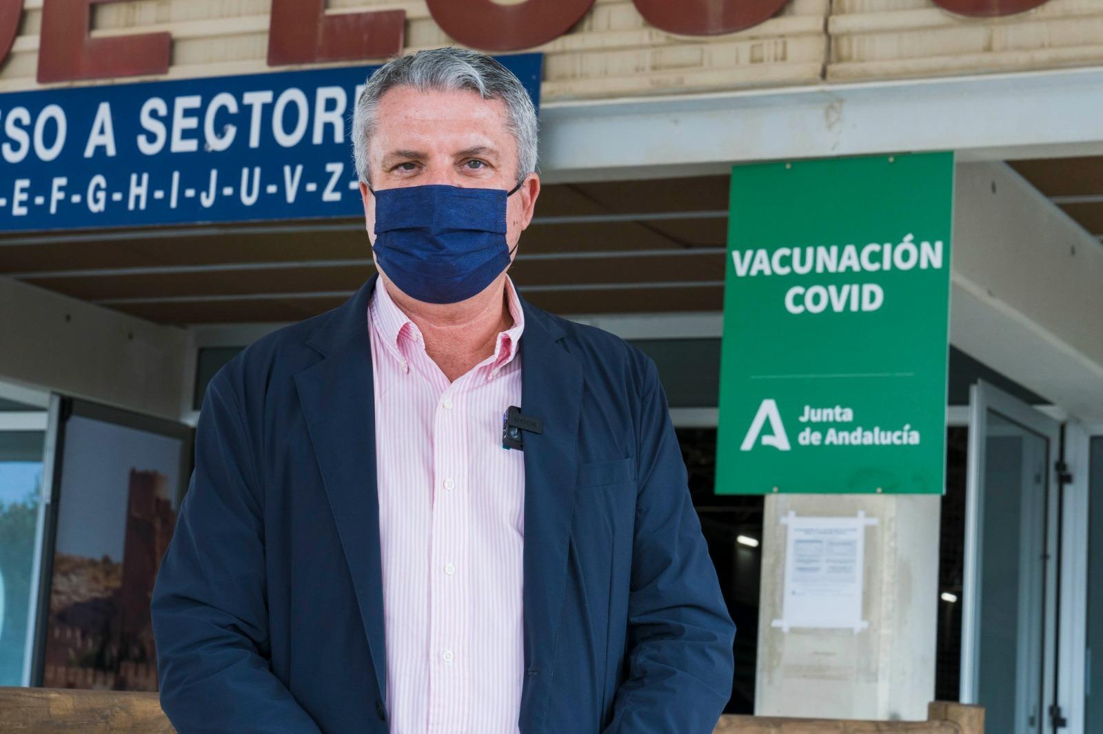 """El PP destaca el """"éxito"""" de la campaña de vacunación en la provincia de Almería"""