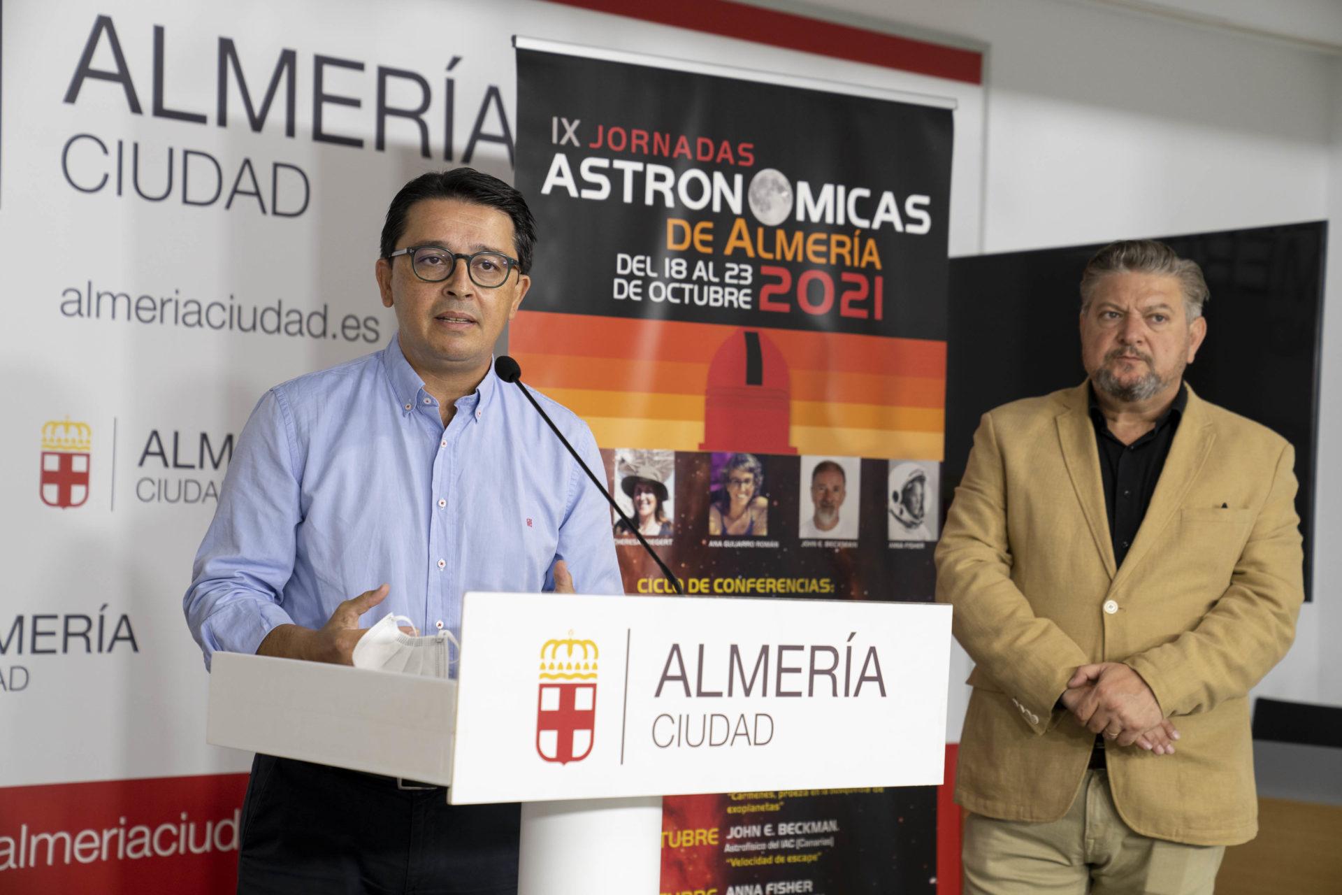 Almería volverá a ser centro del conocimiento del cosmos y la astrofísica del 18 al 23 de octubre con las IX Jornadas Astronómicas