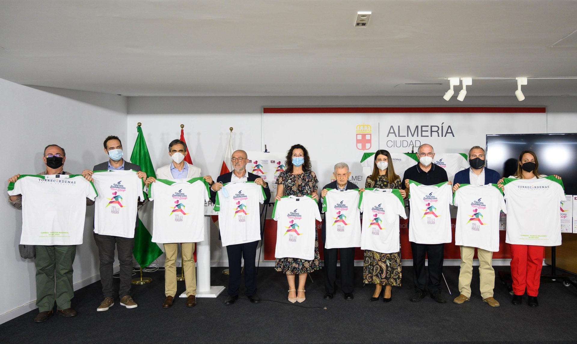 Las '6 Horas Non Stop' de la Fundación Jesús Peregrín servirán para abrir el colegio 'Ciudad de Almería' en Angola
