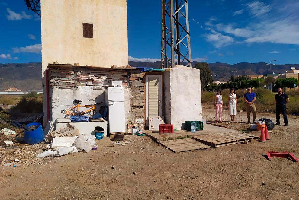 Infravivienda en Santa María del Águila